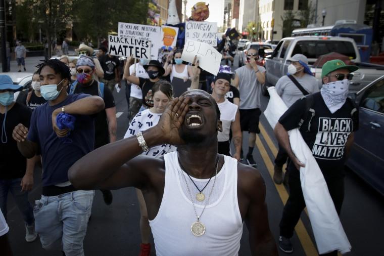 Image: Black Lives Matter protest in Tulsa