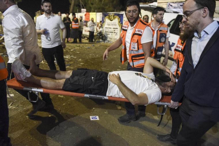 Image: Lag Ba'omer stampede