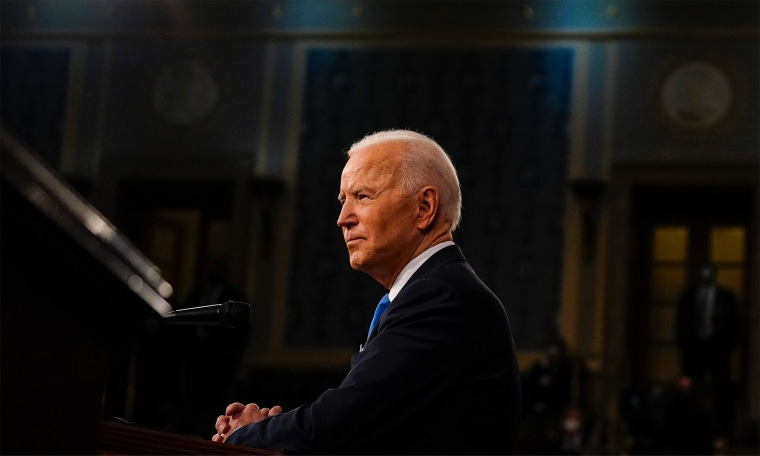 Photo: US President Joe Biden addresses a joint session of Congress at the U.S. Capitol.