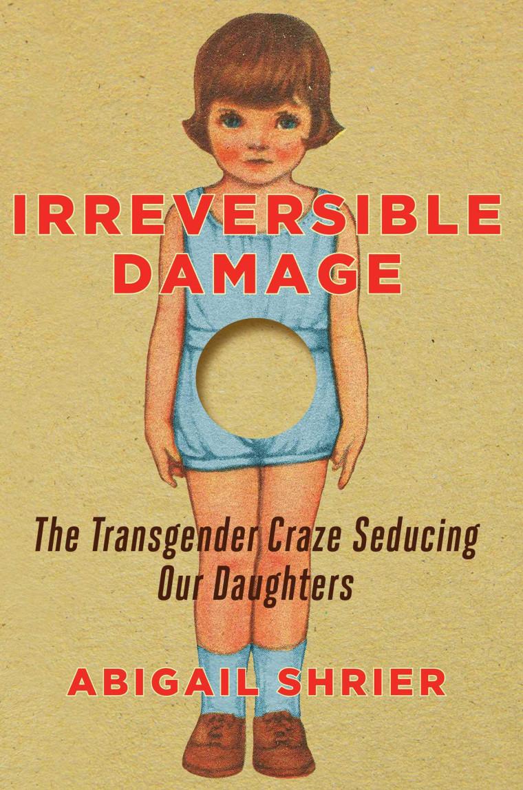 """Image: """"Irreversible Damage,"""" by Abigail Shrier."""