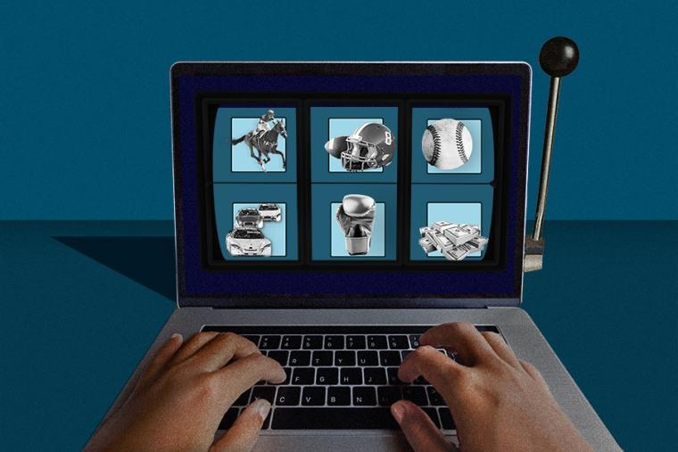 Image: Online gambling