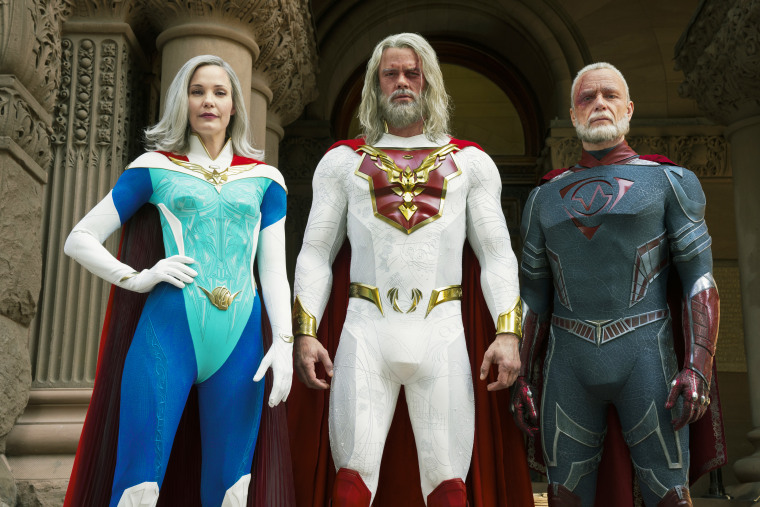 "Netflix series ""Jupiter's Legacy"" stars Leslie Bibb, Josh Duhamel and Ben Daniels."