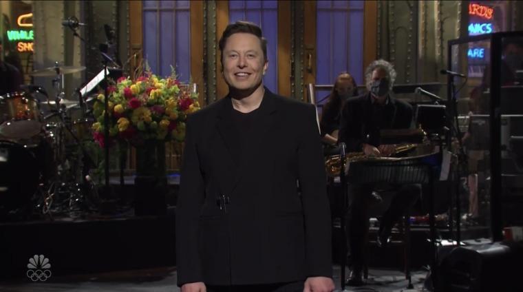 Image: Elon Musk hosts Saturday Night Live