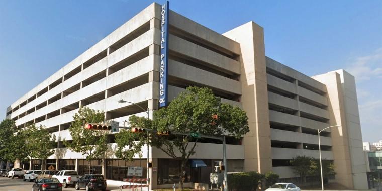 Hospital parking garage for Dell Seton Medical Center in Austin, Texas.