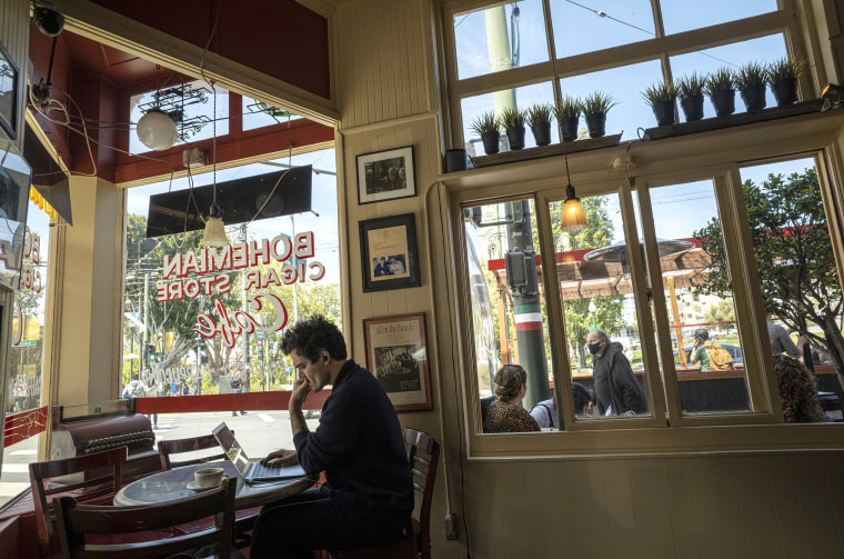 Image: San Francisco Moves To Yellow Tier Of Reopening