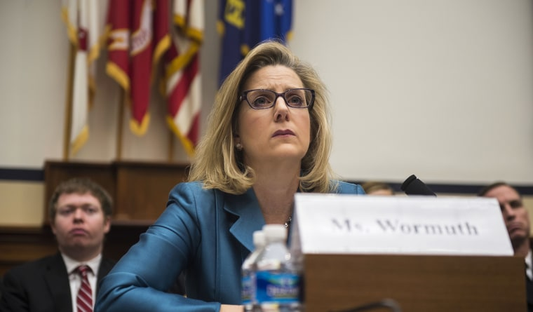 Image: Defense Undersecretary for Policy Christine Wormuth testifies at the House Armed Services Full Committee.