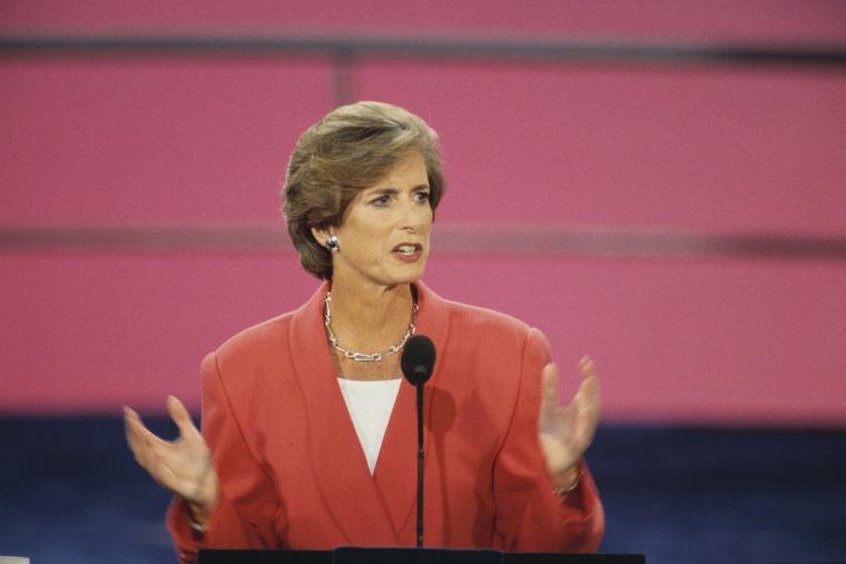 New Jersey Gov. Christine Todd Whitman in 1997.