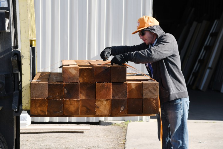 Image: Lumber is transported in Colorado