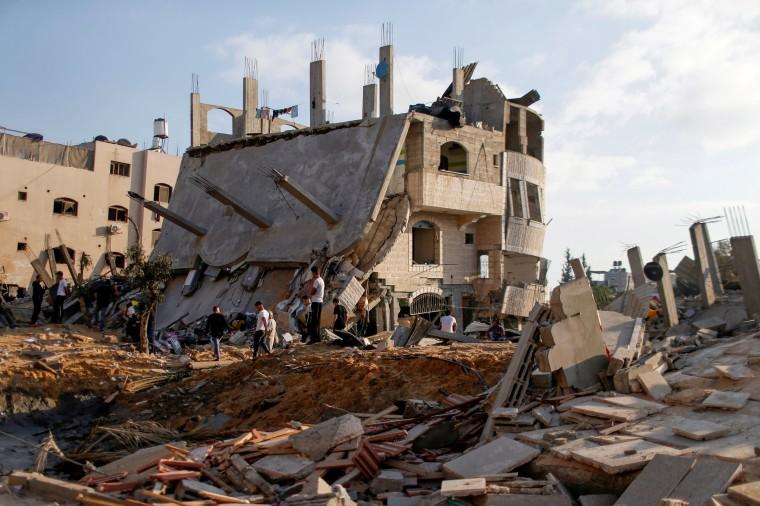 Image: Israeli-Palestinian violence flares up