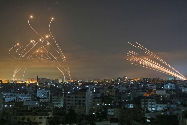 Image: TOPSHOT-PALESTINIAN-ISRAEL-CONFLICT-GAZA