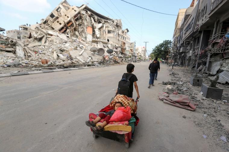 Image: Israel-Gaza cross-border violence continues