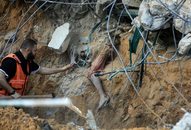 Image: TOPSHOT-PALESTINIAN-GAZA-ISRAEL-CONFLICT