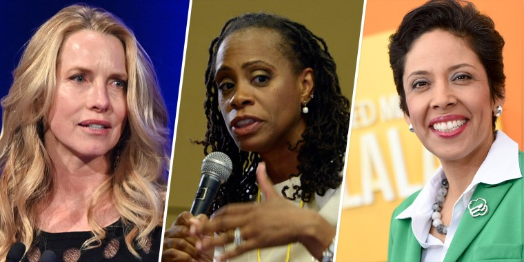 From left: Laurene Powell Jobs, Anne Williams-Isom and Anna Maria Chavez.