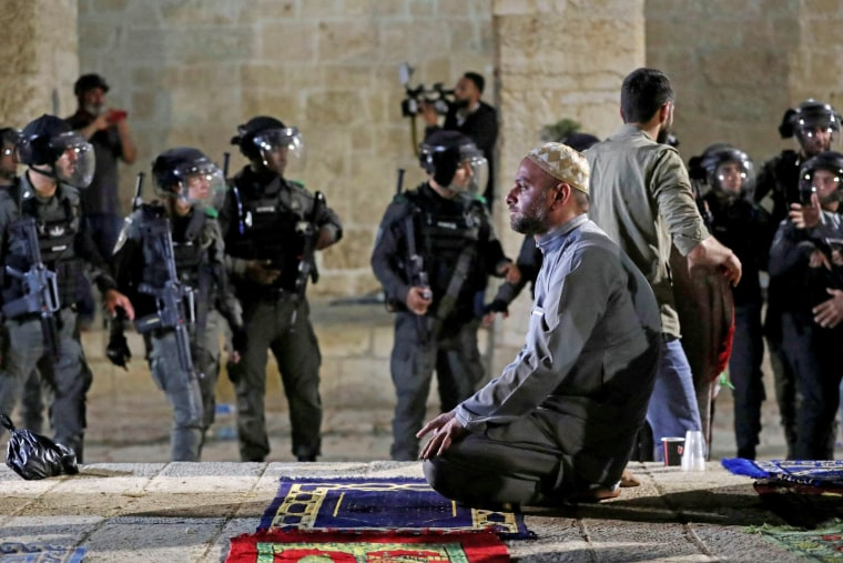 Tension over possible eviction of several Palestinian families in East Jerusalem's Sheikh Jarrah neighborhood