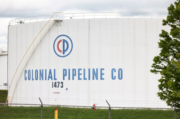 Image: Cyberattack Forces Shutdown Of Major U.S. Fuel Pipeline