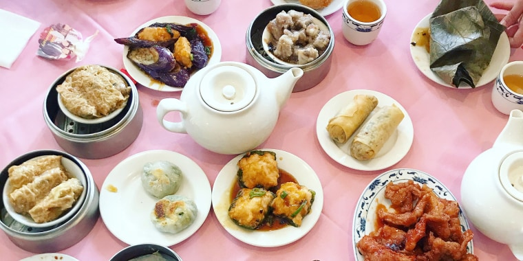 """Dim sum translates to """"touch the heart"""" in Cantonese."""