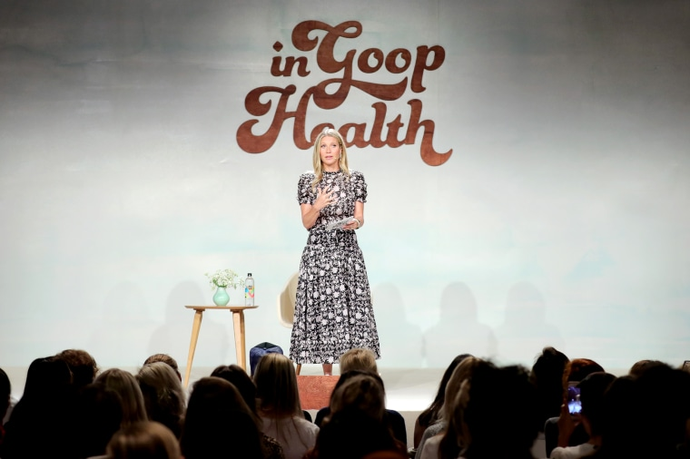 Gwyneth Paltrow speaks on stage at the In goop Health Summit at 3Labs on June 9, 2018 in Culver City, Calif.
