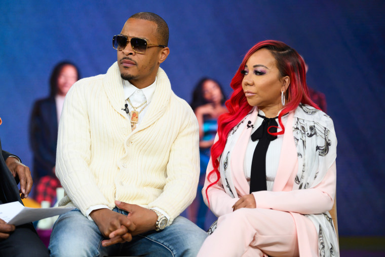 """TI and Tiny appear on NBC's \""""TODAY\"""" show on April 12, 2019."""