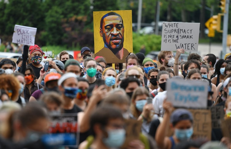 Image: Black Lives Matter protest New York