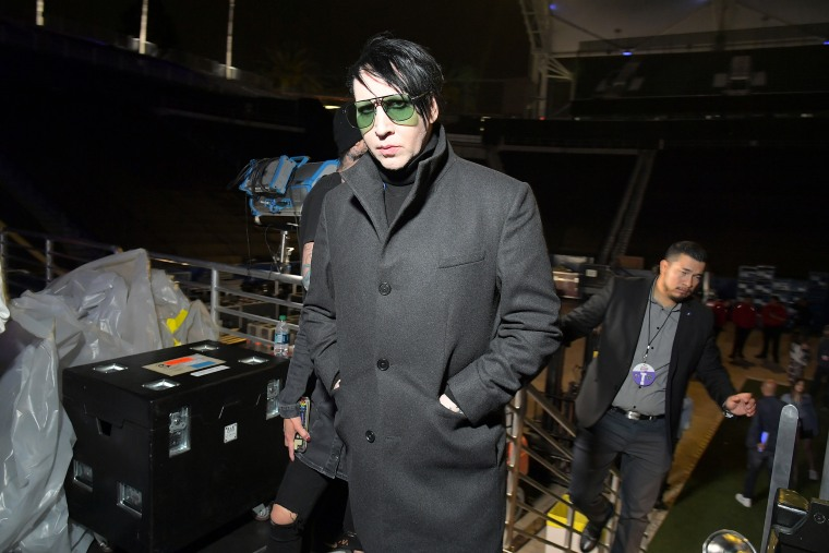 Marilyn Manson's former personal assistant accuses him of abuse in lawsuit