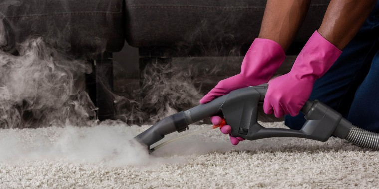 """""""If you've never used a steam cleaner you'll be blown away by how easy it is,"""" Michelle Hansen told TODAY Home."""