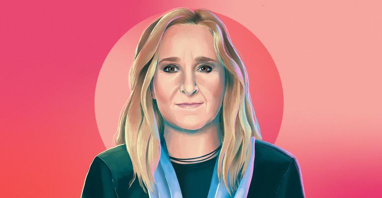 Illustrated portrait of Melissa Etheridge