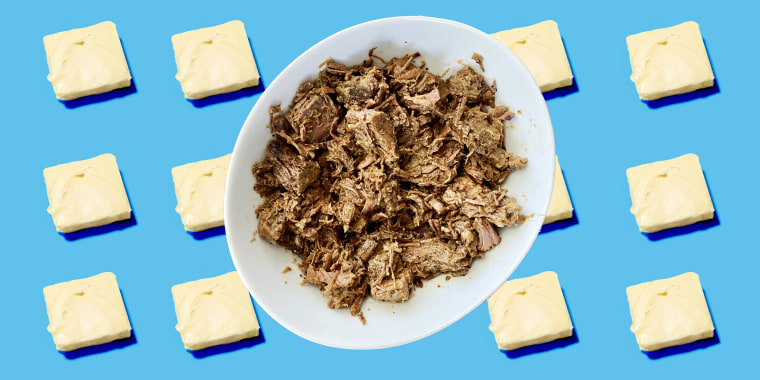 This popular slow-cooker method involves butter — lots of butter.