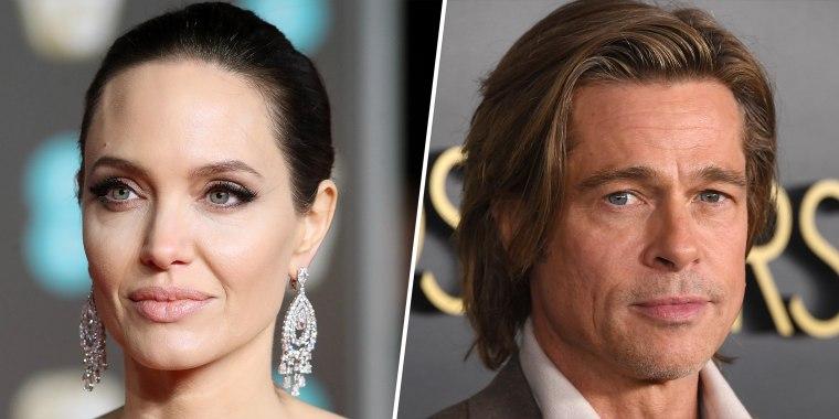 Jolie and Pitt split in 2016.
