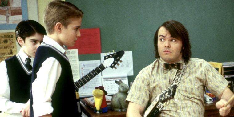 Kevin Alexander, Jack Black, School of Rock