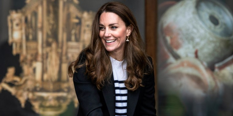 Image of Catherine, Duchess of Cambridge, during a visit to the University of St Andrews
