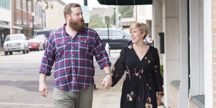 Erin and Ben Napier of HGTV's Home Town