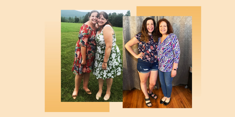 Darlene and Lauren Sears lean on each other for support, motivation and accountability.