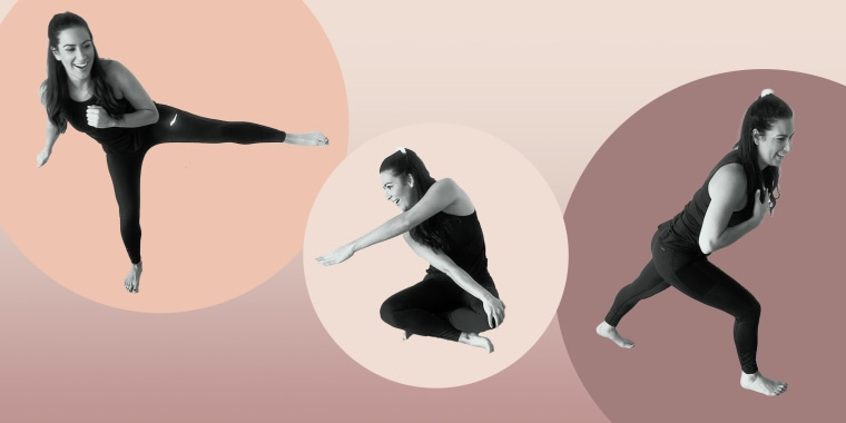 This is not your typical yoga workout!