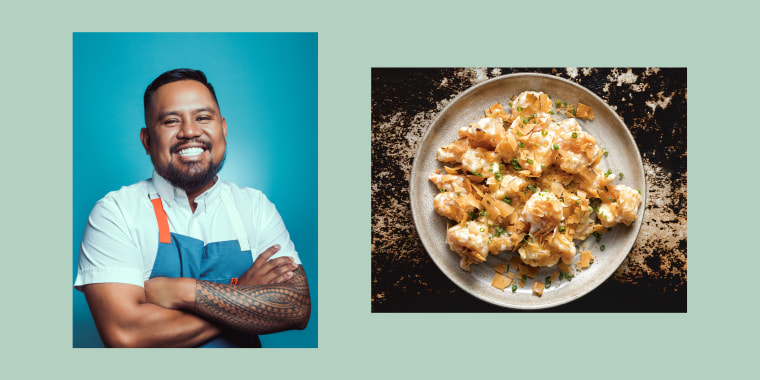 Chef Sheldon Simeon said his dad is his biggest culinary influence.