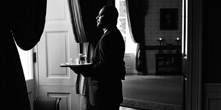 Portrait of William A. Carter (Buddy), White House Assistant Maitre D', 4/5/2002
