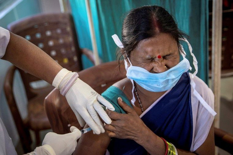 Image: COVID-19 vaccination campaign in Koraput district