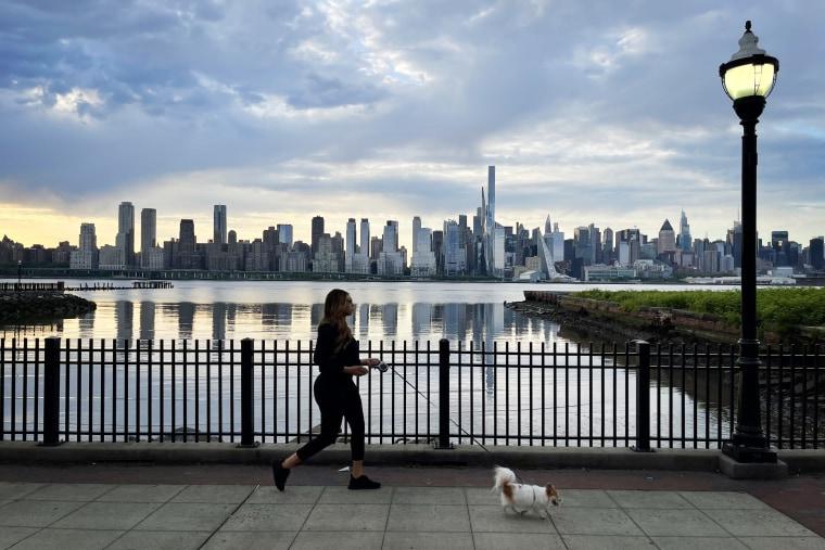 Sunrise in New York