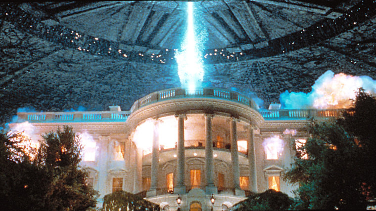 Image: A scene from 'Independence Day'
