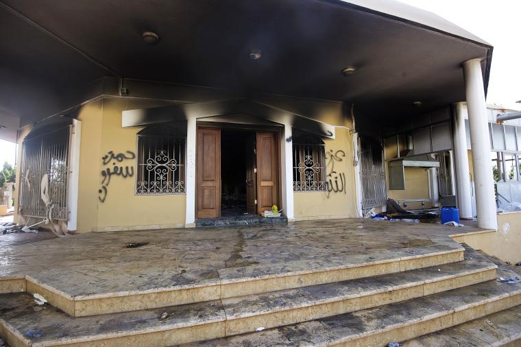 Image: The U.S. Consulate in Benghazi
