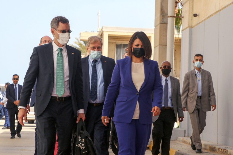Image: Acting Assistant Secretary of State Joey Hood visits Libya