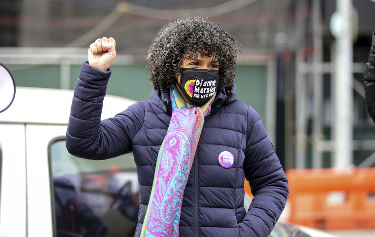 Image: NYC mayoral candidate Dianne Morales