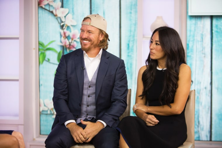 """Chip and Joanna Gaines appear on NBC's \""""TODAY\"""" show on Oct. 17, 2017."""