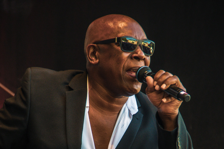 John Davis, the real singer of Milli Vanilli, performs in Eisenach, Germany, on June 29, 2018.
