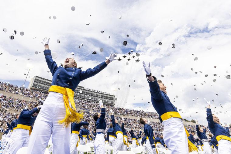 Image: U.S. Air Force Academy Holds 2021 Graduation Ceremony