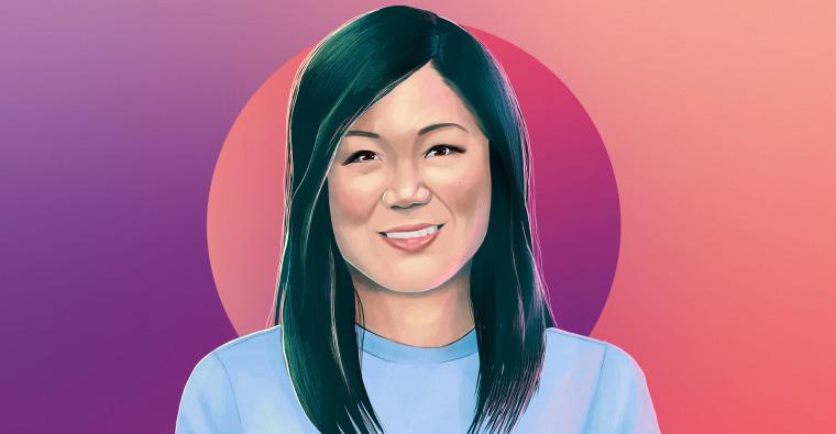 Margaret Cho illustration