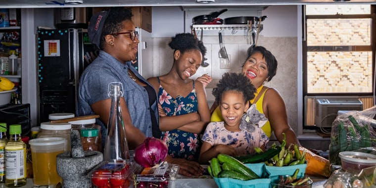 Food Plus People is a family affair — the co-founders' two young daughters help with packaging and organizing.