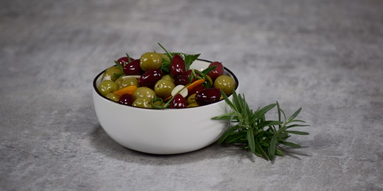 Make these zesty olives for the perfect summer appetizer.
