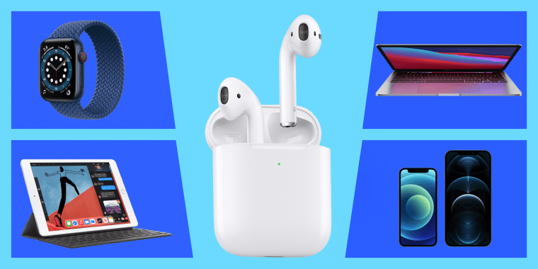 Image: Apple products. See the best Apple deals and sales extended from Memorial Day. Shop Memorial Day Apple sales on the Apple Watch, MacBook Pro, AirPods and more.