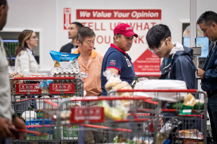 Inside A Costco Wholesale Store Ahead Of Earnings Figures