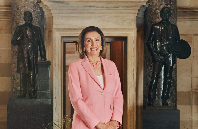"""House Speaker Nancy Pelosi, who was honored on Know Your Value and Forbes' inaugural """"50 over 50"""" list this week."""